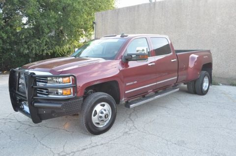 Certified Pre-Owned 2015 Chevrolet Silverado 3500HD LTZ