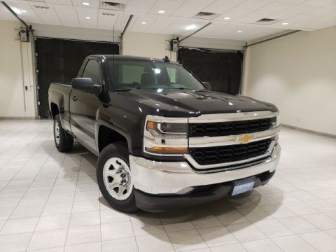 Certified Pre-Owned 2017 Chevrolet Silverado 1500 LS